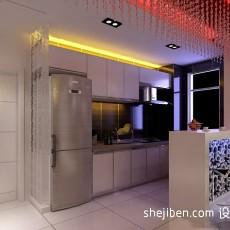 精美面积97平现代三居厨房实景图片大全