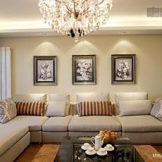 现代简约风格客厅家装效果图