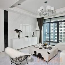 2018精选94平米三居客厅现代装修设计效果图片大全