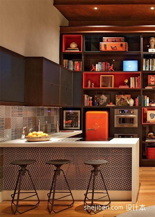 精选131平米混搭复式客厅装修欣赏图