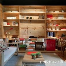 面积123平复式客厅混搭装饰图片大全