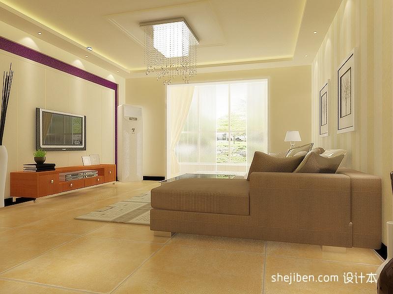 华丽温馨欧式客厅装饰
