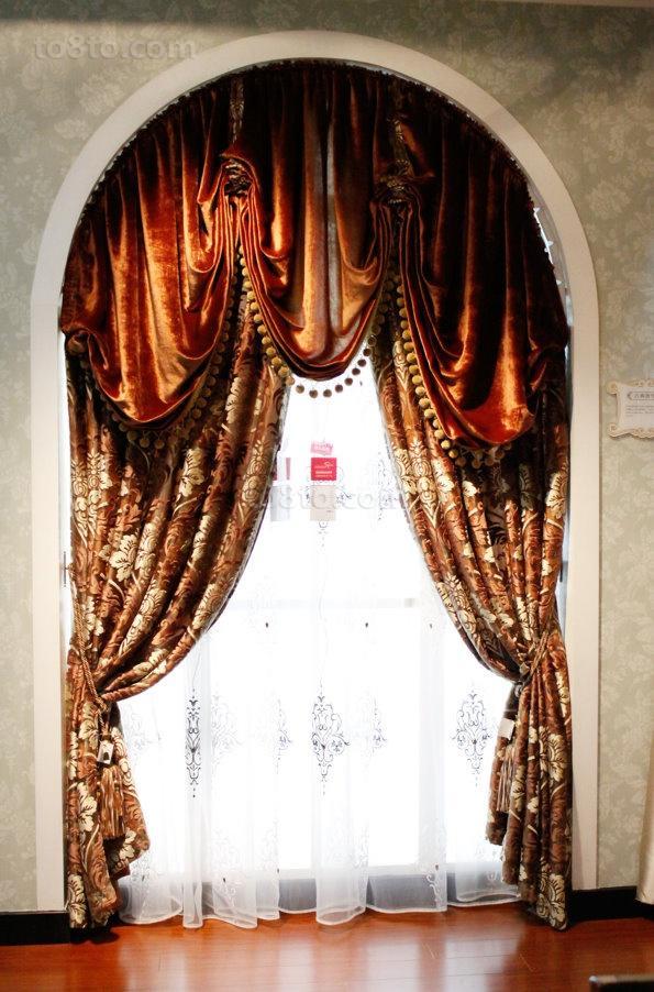 经典古典窗帘