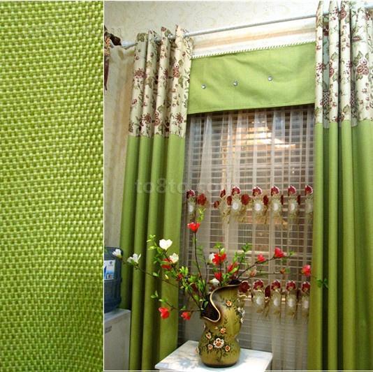 现代客厅窗帘图片