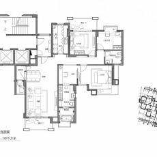 精美133平米混搭复式客厅装修实景图片欣赏