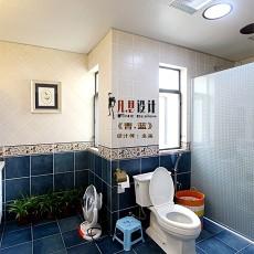 精美93平米三居卫生间欧式效果图片大全