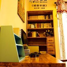 热门美式三居书房装饰图片欣赏