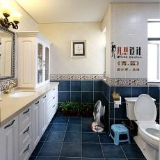 热门面积98平欧式三居卫生间装饰图