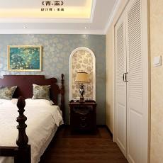 精选101平米三居卧室欧式装修实景图片欣赏