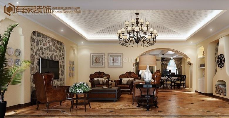 客厅吊顶装修效果图片