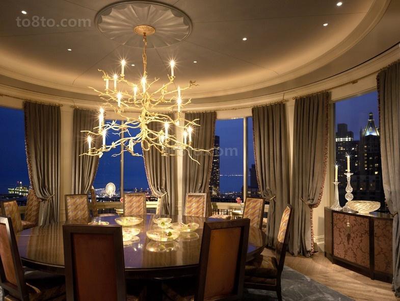 家装餐厅吊顶造型