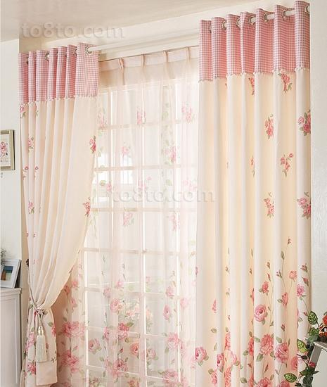 客厅窗帘装修效果图片欣赏
