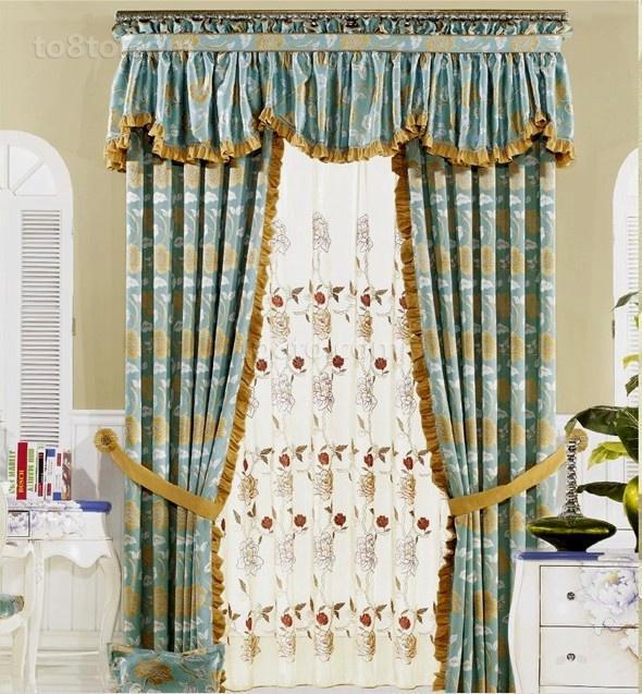 最新卧室窗帘装修效果图片欣赏