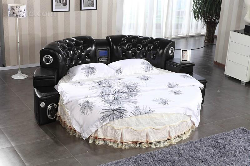 2013卧室圆床图片
