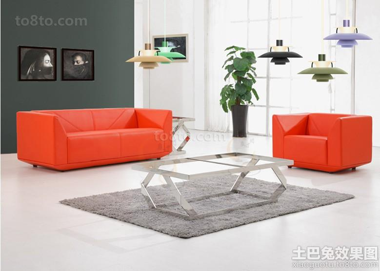 现代办公沙发图片