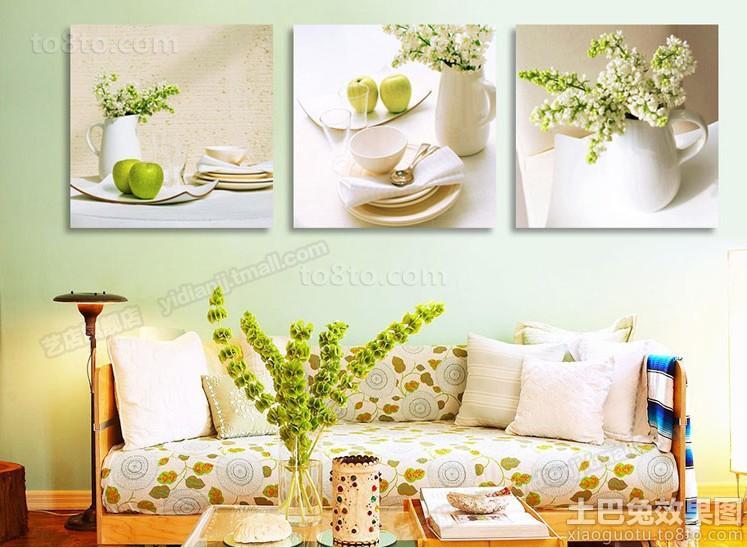 室内客厅装饰画图片