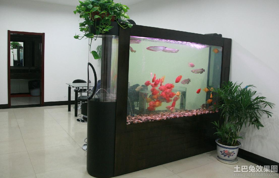 客厅鱼缸隔断图片欣赏