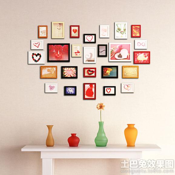 心形照片墙