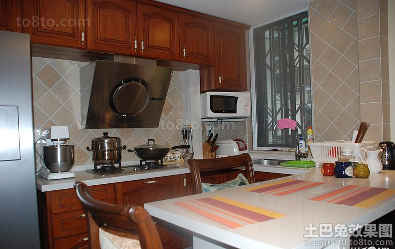 厨房用具装修效果图