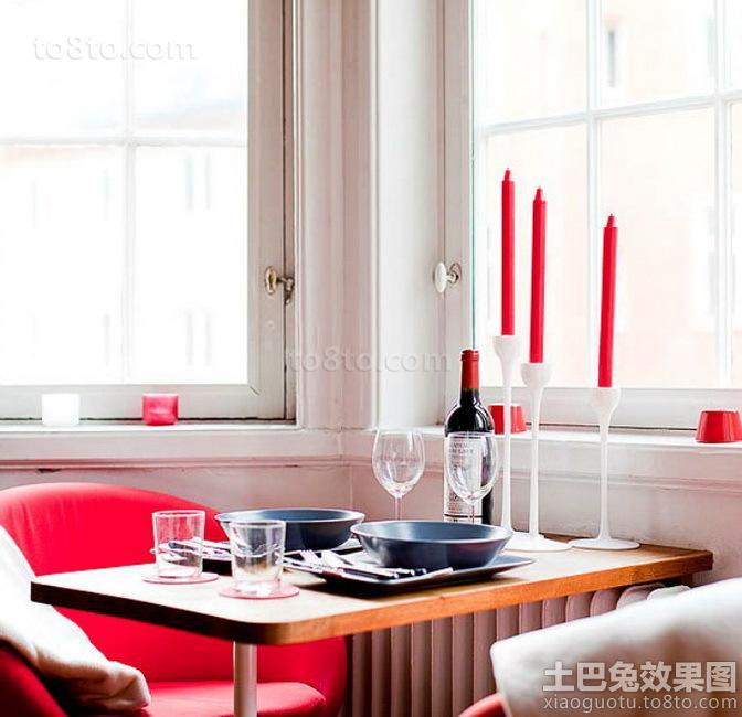 餐厅桌面装饰效果图
