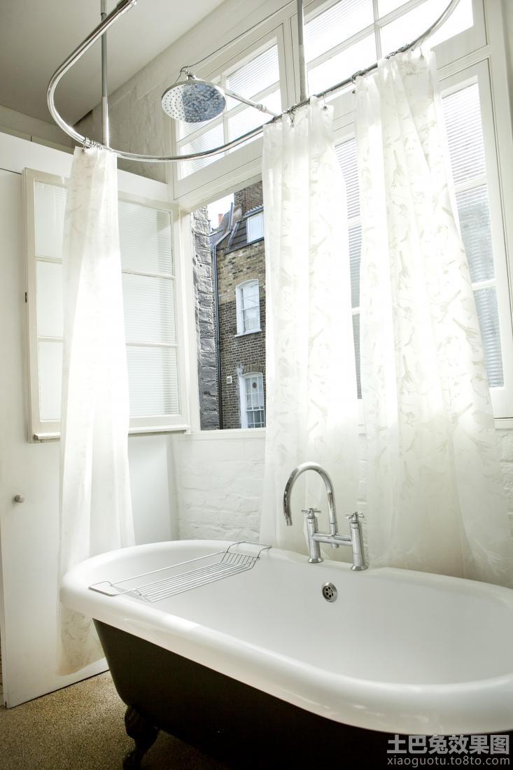 宜家卫生间亚克力浴缸效果图