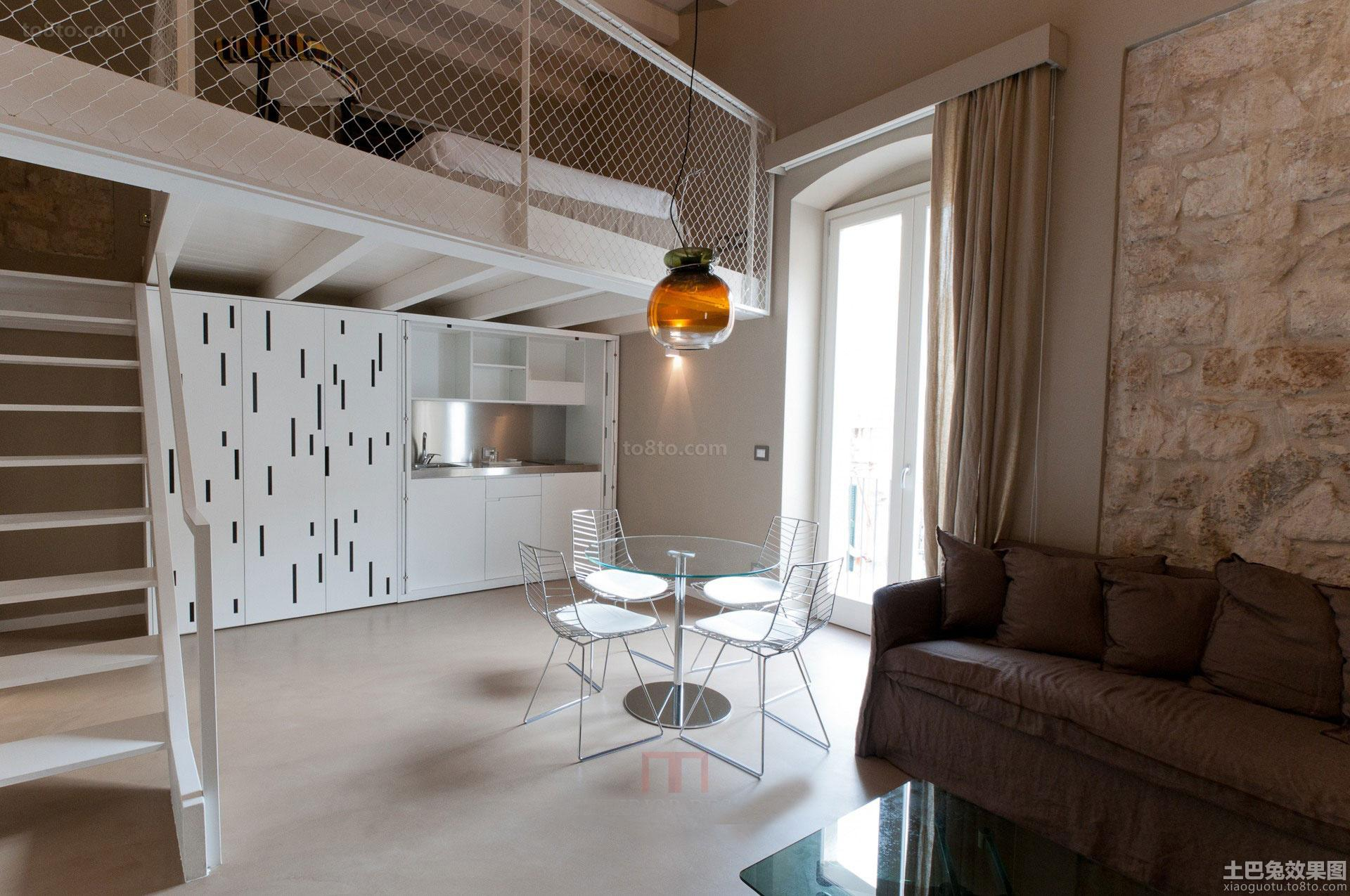 loft风格餐厅装修图