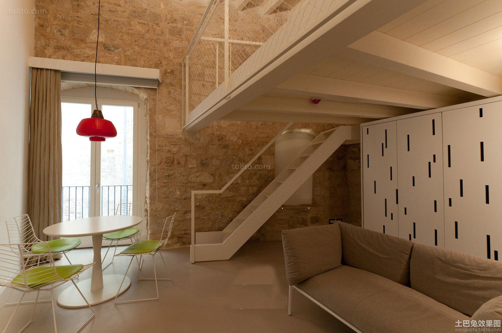 loft户型室内装修图