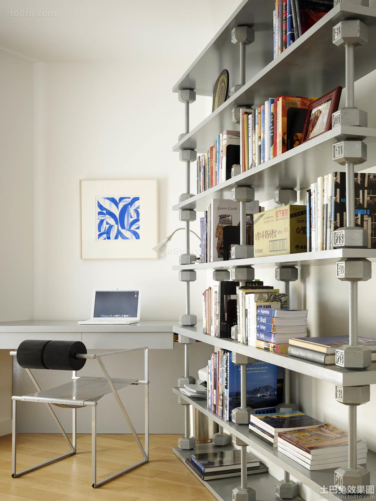 loft户型书房装修图