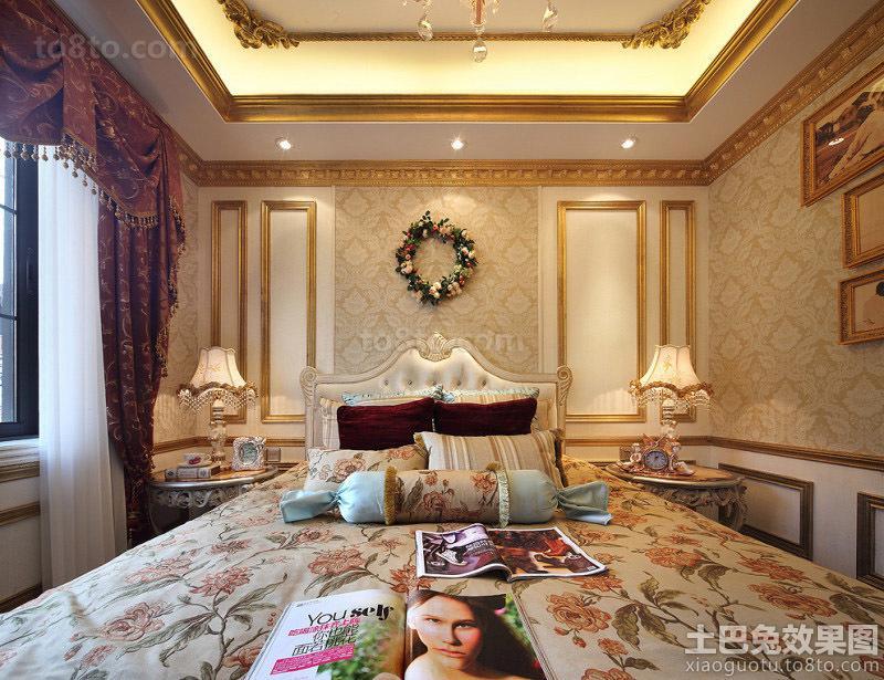 巴洛克欧式卧室装修效果图大全2013图片