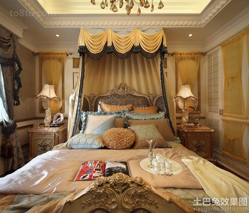 巴洛克风格卧室装修效果图大全
