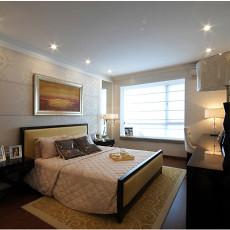 精选面积91平欧式三居卧室装修设计效果图片大全