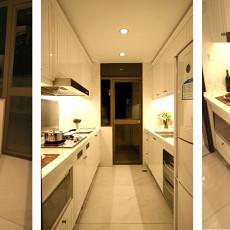 精美98平米三居厨房欧式装修图