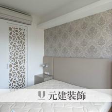 简约主卧室壁纸装修效果图