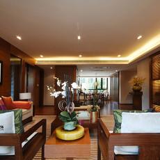 热门面积97平中式三居客厅实景图片大全