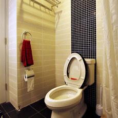 精美面积89平小户型卫生间现代装修图片欣赏