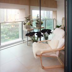 精选小户型阳台现代装修设计效果图