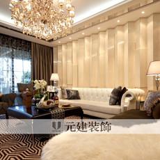 2018精选81平米二居客厅现代装修实景图片
