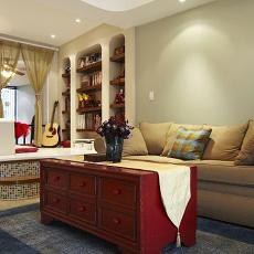 地中海风格客厅装修设计图片大全