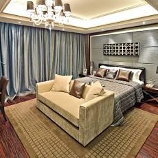 现代大卧室装修设计效果图