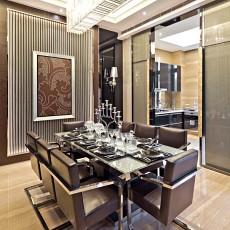 精美一居餐厅现代装修欣赏图