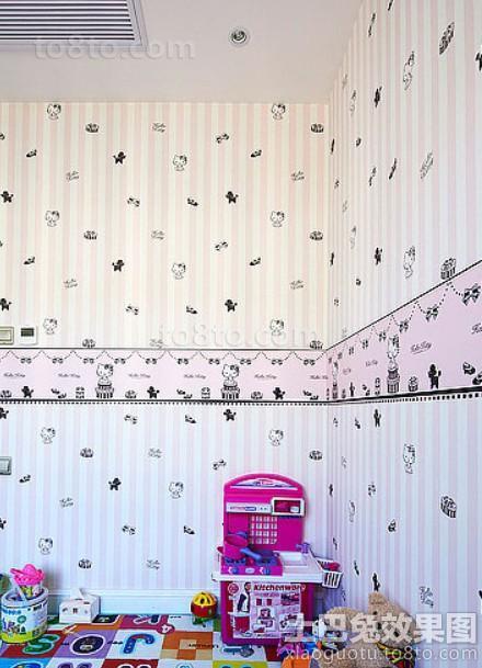 儿童房精美壁纸图片大全