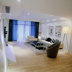 极简客厅装修效果图大全2013图片