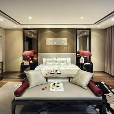 中式别墅卧室装修欣赏图片大全
