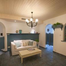 地中海风格小客厅装修效果图大全