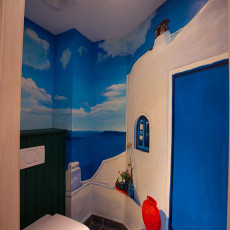 地中海风格小卫生间装修图片大全