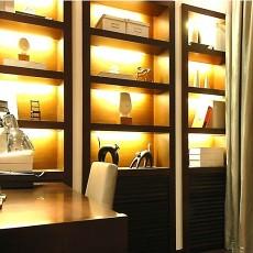 现代书房柜子效果图