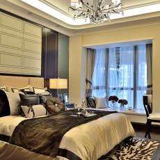 现代装修风格卧室效果图大全