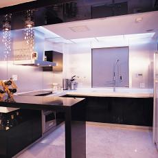 现代小户型厨房实景图片大全