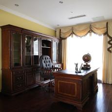 美式家装书房装修效果图大全2013图片