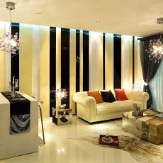 热门面积70平小户型客厅现代装修欣赏图片大全